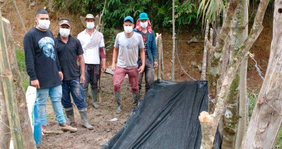 Federación de Cafeteros construye germinador comunitario en el municipio de Ituango
