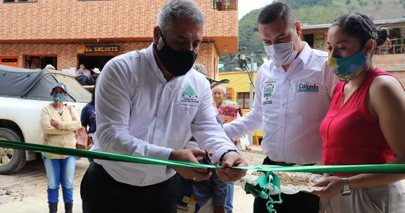 Cooperativa de Caficultores de Salgar realizó la apertura de un nuevo punto compra de café en Caicedo